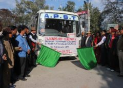 Pasighat–Dibrugarh APST daily bus service flagged off