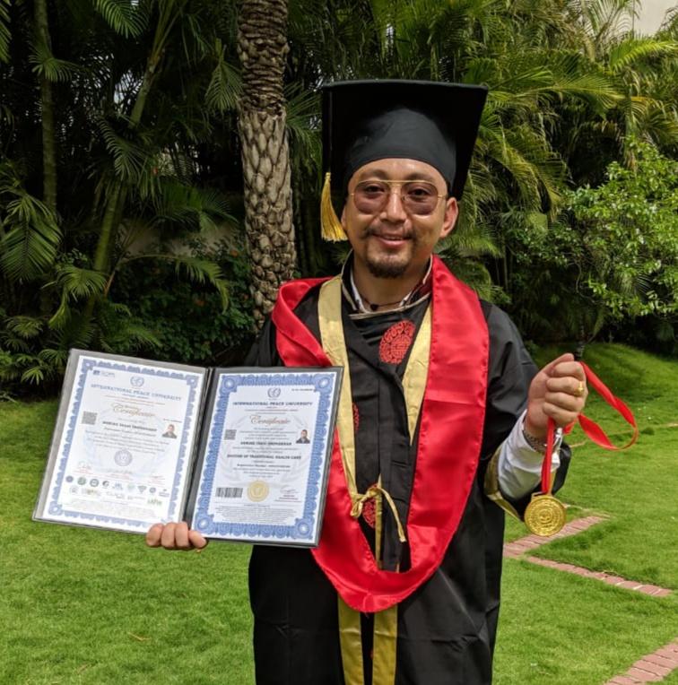 German IPU award PhD to Arunachalee naturopathist   Arunachal Observer